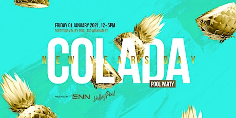 COLADA Pool Party: NYD2021 tickets