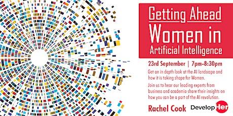 Getting Ahead: Women in Artificial Intelligence tickets