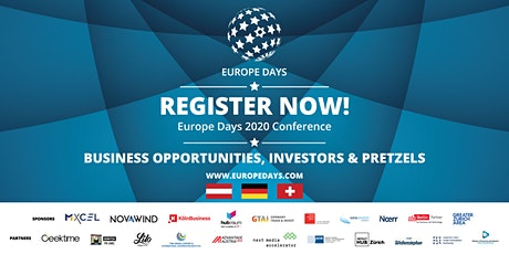 Europe Days 2020 Conference - Virtual edition Tickets