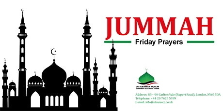 Jummah at UK Albanian Muslim Community and Cultural Centre: 1.30pm tickets