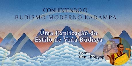 Conheça o Budismo Moderno Kadampa ingressos