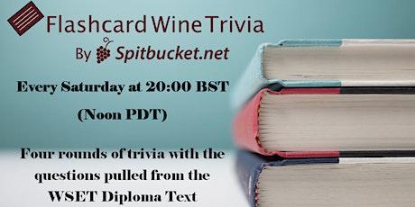 Flashcard Wine Trivia tickets