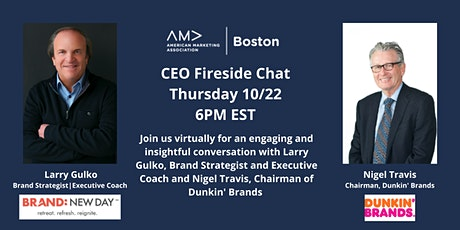 CEO Fireside Chat: Nigel Travis, Chairman, Dunkin' Brands tickets