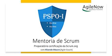 Mentoria para certificação Scrum PSPO-I - Scrum.or
