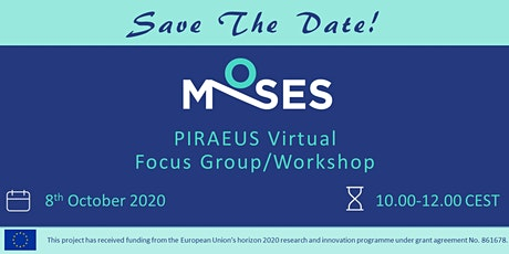 PIRAEUS virtual Focus Group/Workshop tickets