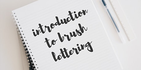 Beginners Brush Lettering Workshop tickets