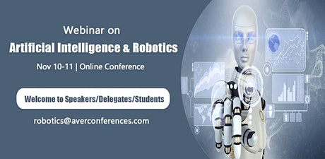 Webinar on Artificial Intelligence & Robotics tickets