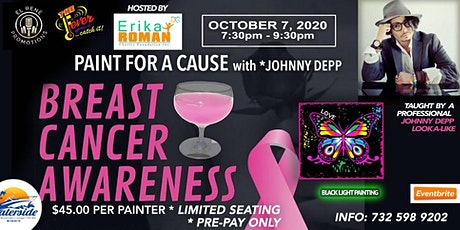 Paint For A Cause W/ Johnny Depp Impersonator tickets