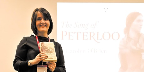 Historical fiction with Carolyn O'Brien, author of 'Song of Peterloo' tickets