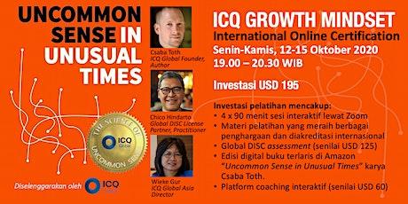 ICQ GROWTH MINDSET - International online certification tickets