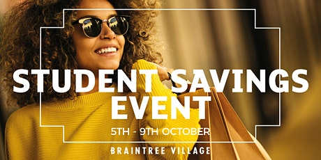 Student Savings Event tickets