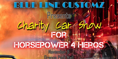 Blue Line Customz Horsepower4Heroes Charity car show tickets