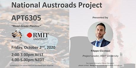 "National Austroads Project - APT6305 ""Road Grade Plastics"" tickets"