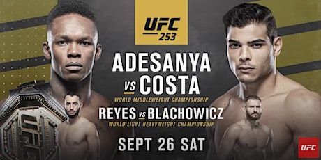 UFC 253 Viewing Party at Mac's Wood Grilled tickets