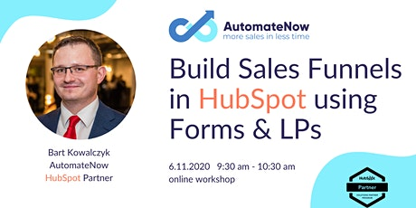 Build Sales Funnels in HubSpot using Forms and LPs 06.11.2020 tickets