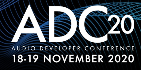 Audio Developer Conference (ADC) tickets