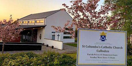 Sunday Mass at St. Columba's Culloden tickets
