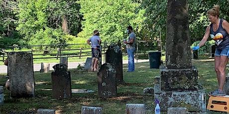 Raking & Cleaning Historic Gravestones at Holyoke's Rock Valley Cemetery tickets