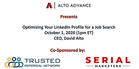 Optimizing your LinkedIn Profile for a Job Search tickets