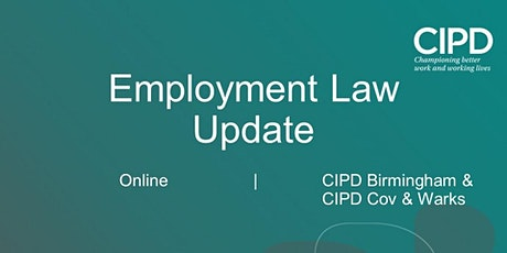 Employment Law Update (morning) tickets