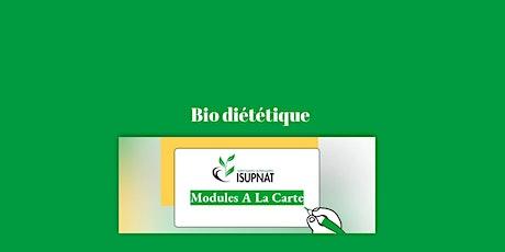 Bio diététique - Module de formation à la carte billets