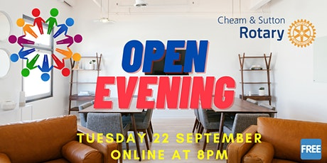 Rotary Open Evening tickets