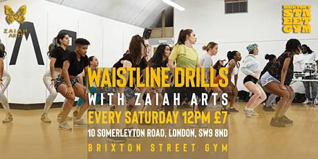 WAISTLINEDRILLS (Beginner Friendly Soca Dance Class!) tickets