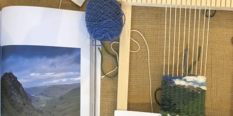 Nature-Inspired Frame Loom Weaving tickets