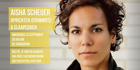 Aisha Scheuer bij Utrecht College Tour tickets