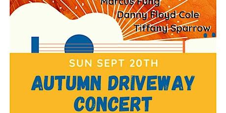 Autumn Driveway Concert tickets