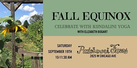 Fall Equinox: Celebrate with Kundalini Yoga & Meditation tickets