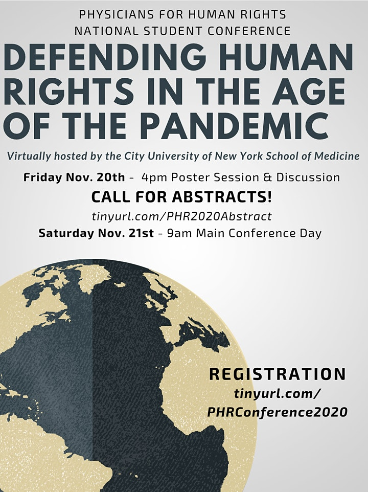 Physicians for Human Rights National Student Conference image