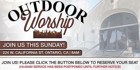 Outdoor Sunday Morning Worship (8:00 AM) tickets