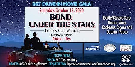 007 Drive-In Movie Gala - Bond Under the Stars tickets