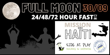 Full Moon Fasting voor weeskinderen in Haïti tickets