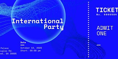 International Party tickets