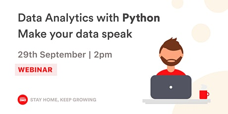 English Webinar - Data Analytics with Python | Le Wagon tickets