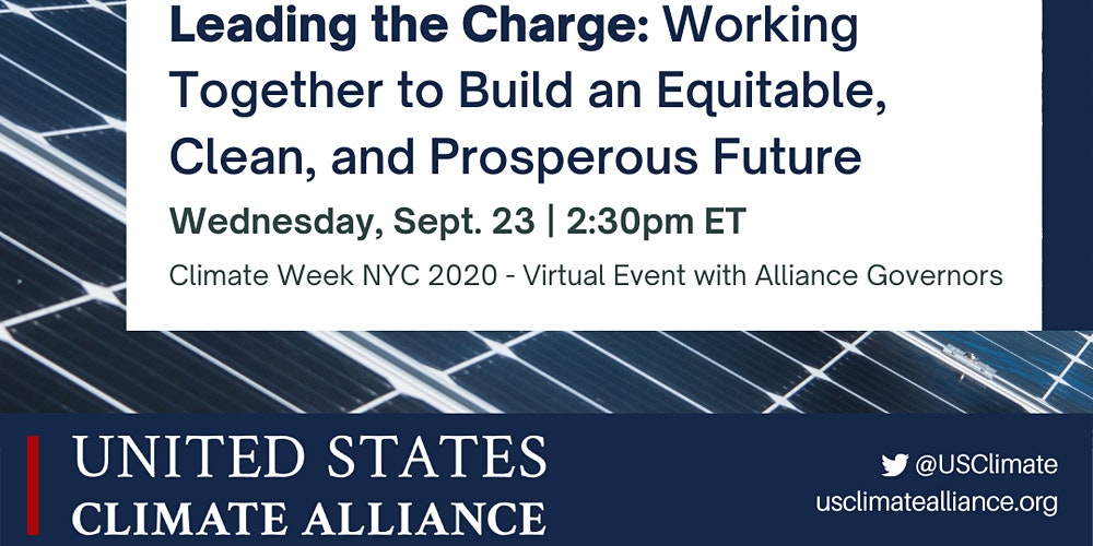 Organizer of Leading the Charge - A Virtual Discussion with Alliance Governors