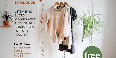 Clothing Swap / Échange de vêtements billets