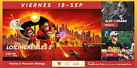LOS INCREIBLES 2 tickets