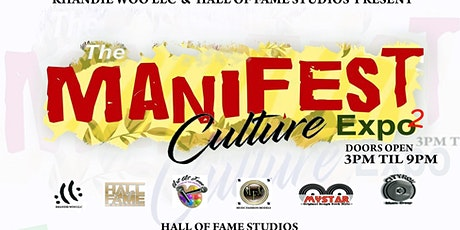 Manifest culture expo tickets