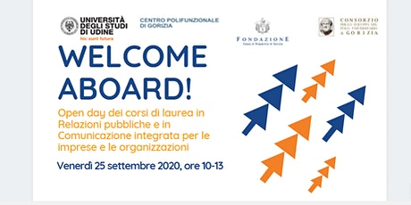 Welcome aboard! biglietti