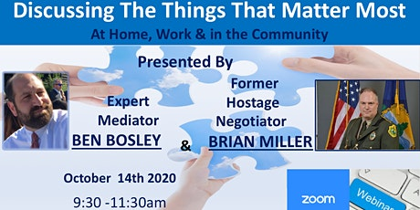 Discussing The Things That Matter Most - At Home, Work & In The Community tickets