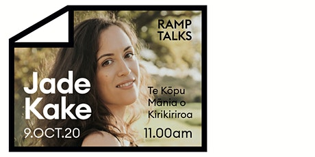 Ramp Talks | Jade Kake: Indigenous Urbanism tickets