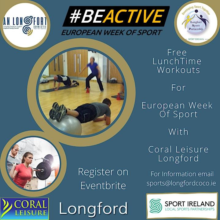 European Week Of Sport - Lunch Workouts image