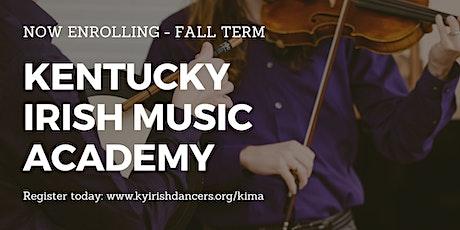 Kentucky Irish Music School - Fall Term tickets