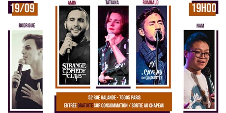 Strange Comedy Club - #88 billets