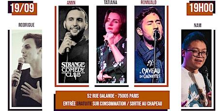 Strange Comedy Club - #88 billets