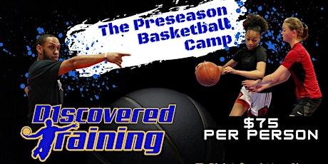 The Preseason Basketball Camp tickets