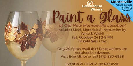 Monroeville location Paint a Wine Glass
